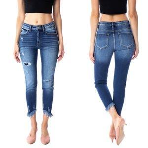 NWT KanCan Barlett-Laredo Ankle Skinny Jeans